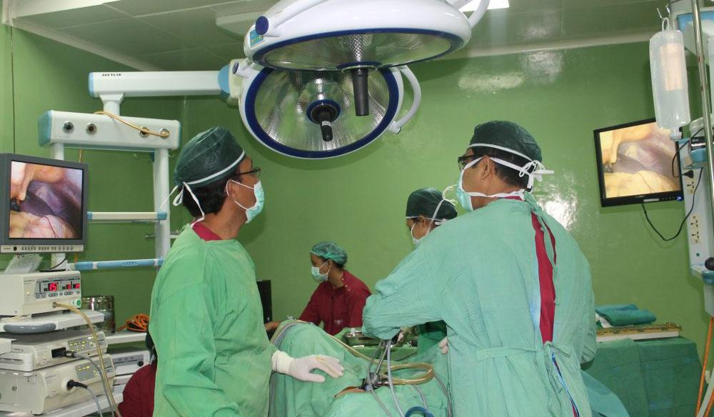 Minimal Invasive Surgery Bali Royal Hospital