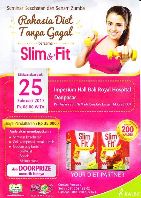 Seminar Kesehatan dan Senam Zumba – Bali Royal Hospital