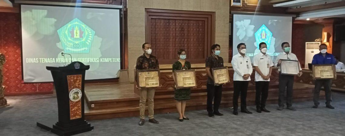 Bali Royal Hospital, meraih Juara 2 dalam Penilaian Sarana Hubungan Industrial